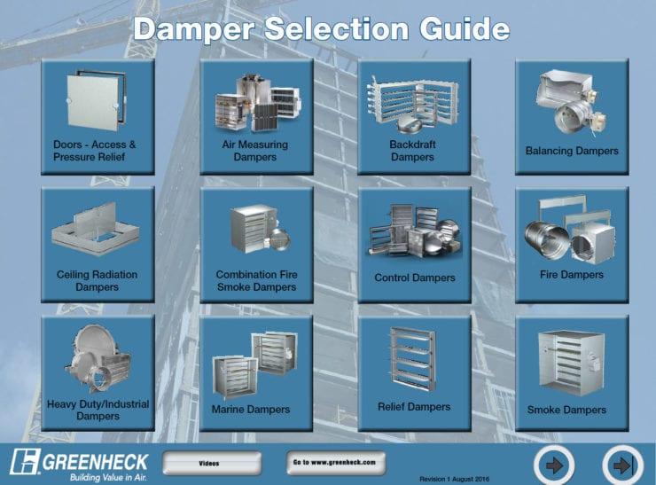 Damper Selection Guide